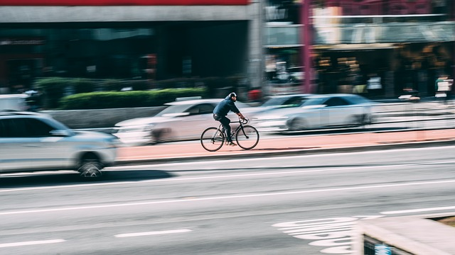 Accidente de trabajo en Bicicleta