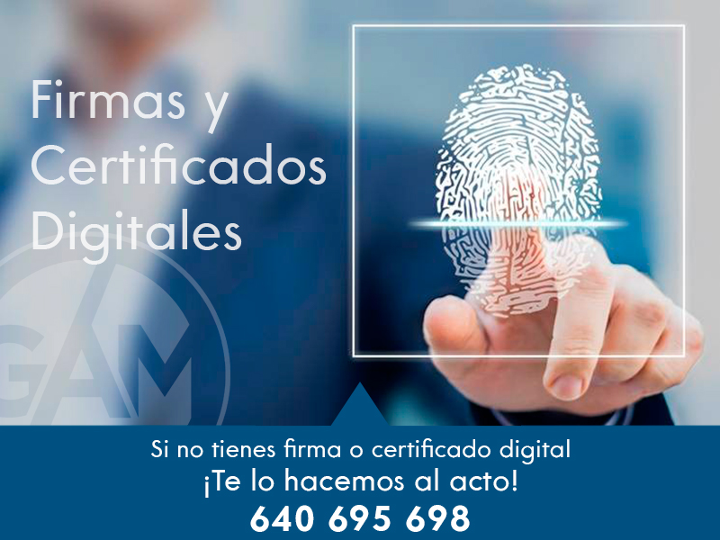 firmas certificados digitales gestoria en mataro